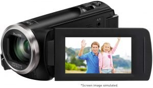 Panasonic Full HD Video Camera Camcorder HC-V180K, 50X Optical Zoom